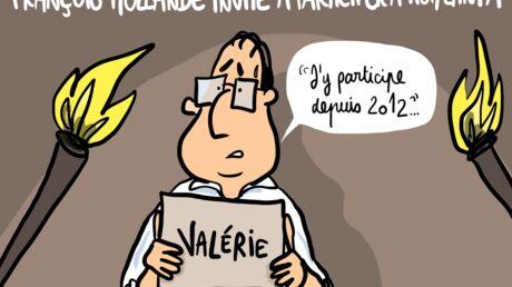 Louison a croqué: François Hollande dans Koh-Lanta? Il répond à l'invitation