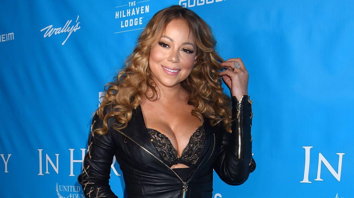 PHOTOS Mariah Carey nue dans sa baignoire, c'est cadeau