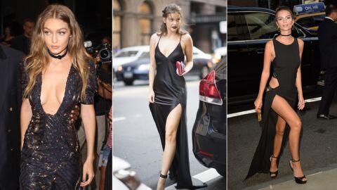 PHOTOS Gigi Hadid ultra décolletée, Emily Ratajkowski et Barbara Palvin très sexy pour la Fashion Week