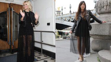 Robe noire et perfecto