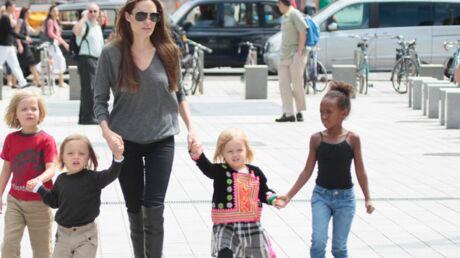 Londres: Brad Pitt et Angelina inquiets pour la sécurité de leurs enfants