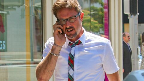 LOOK David Arquette en slim rouge : parfait !