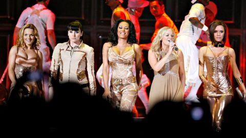 Les Spice Girls répètent pour la cérémonie de clôture des JO