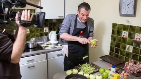DIAPO Norbert de Top Chef invité dans Un dîner presque parfait