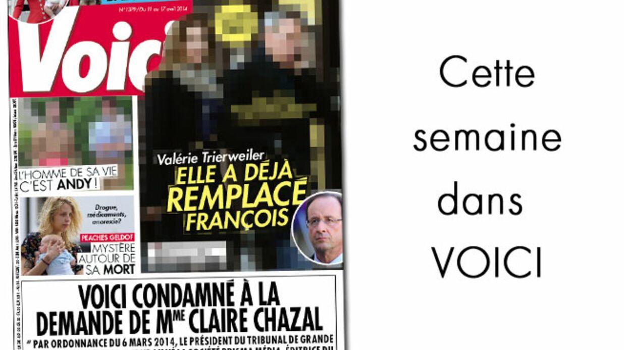 Cette semaine dans Voici: Valérie Trierweiler a remplacé François Hollande