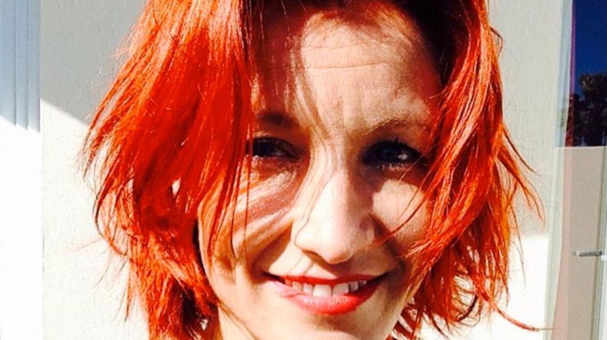 PHOTO Alexandra Lamy est devenue rousse