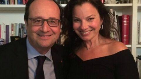 PHOTO Fran Drescher: l'actrice d'Une nounou d'enfer prend la pose avec… François Hollande