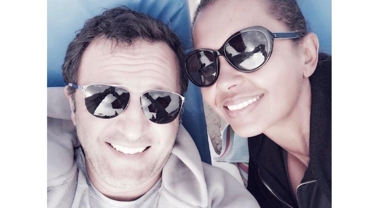 PHOTO Arthur et Karine Le Marchand passent du bon temps à la plage