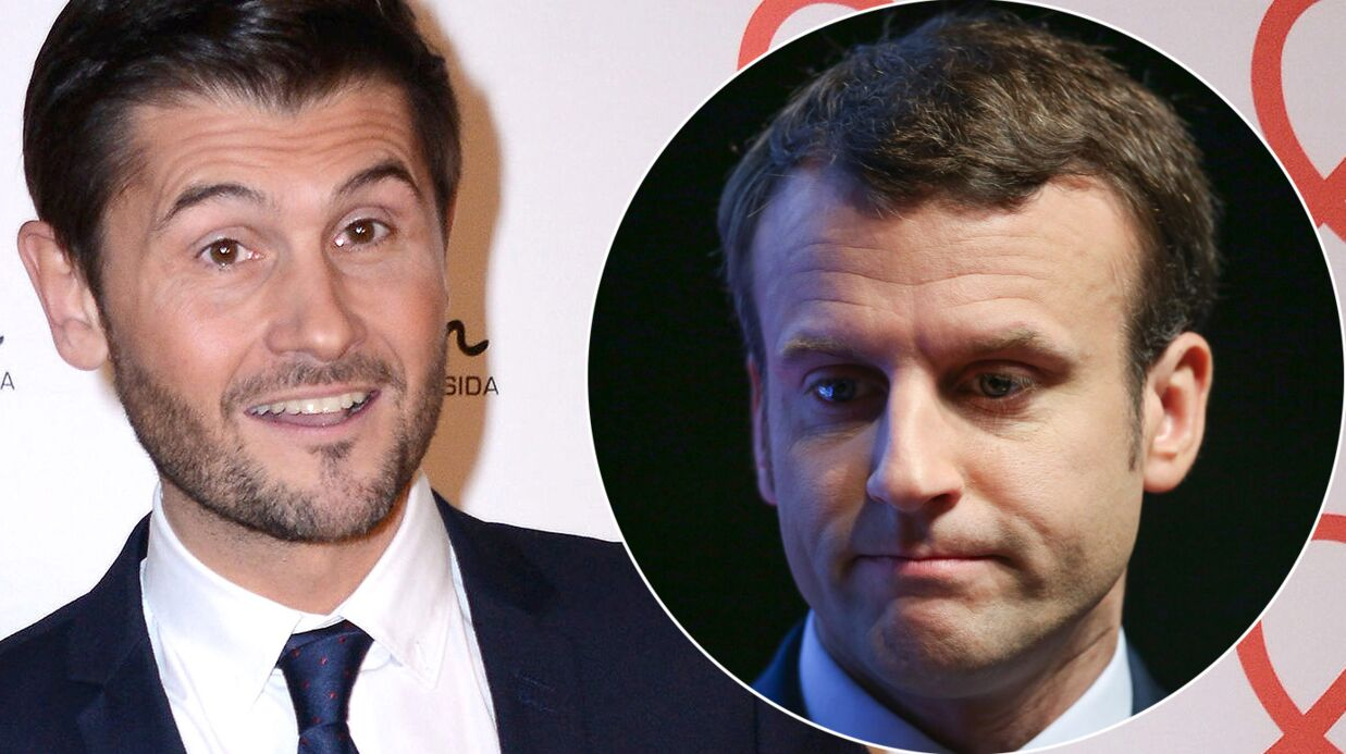 Christophe Beaugrand déniche une photo d'Emmanuel Macron jeune et souligne une troublante ressemblance