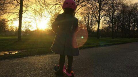 PHOTO David Beckham poste la plus mignonne des photos de sa fille Harper