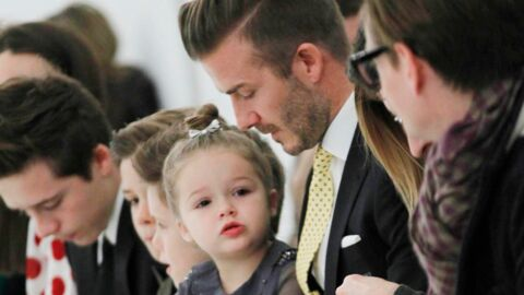 PHOTOS Victoria Beckham: David et leurs enfants premiers fans de son défilé