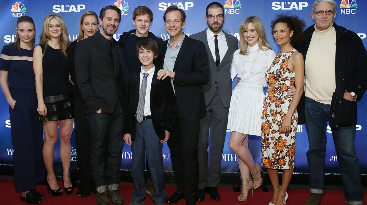 PHOTOS Uma Thur­man éton­nante à l'avant-première de The Slap