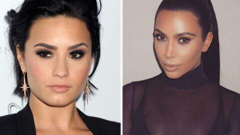 Demi Lovato: les courbes généreuses de Kim Kardashian l'ont aidée à s'accepter physiquement