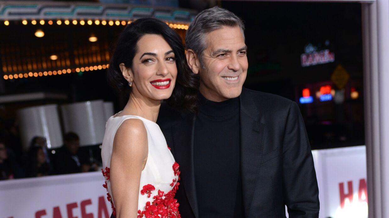 Amal et George Clooney bientôt parents: le sexe des jumeaux dévoilé