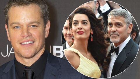 La bourde de George Clooney en annonçant la grossesse d'Amal à Matt Damon