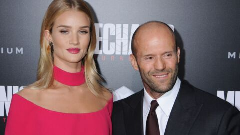 PHOTO Rosie Huntington-Whiteley annonce être enceinte de Jason Statham