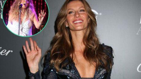 Gisele Bündchen a appris l'anglais grâce aux chansons de Mariah Carey
