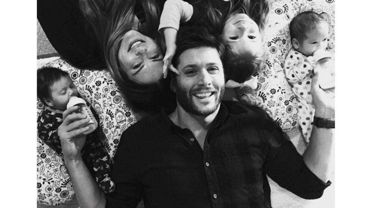 PHOTO Jensen Ackles (Supernatural) dévoile ses jumeaux de 5 semaines: ils sont TROP mignons!