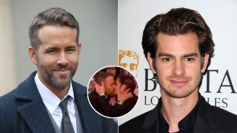 VIDEO Ryan Reynolds et Andrew Garfield se roulent une grosse pelle aux Golden Globes