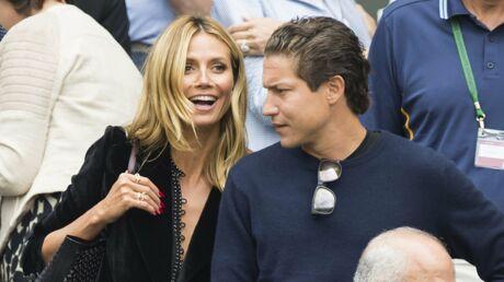 PHOTOS Heidi Klum décolletée et folle amoureuse à Wimbledon