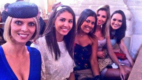 DIAPO Rachel Legrain-Trapani (Miss France 2007) s'est mariée entourée de ses copines Miss