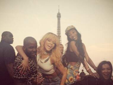 DIAPO Découvrez l'album souvenir du séjour de Rihanna à Paris