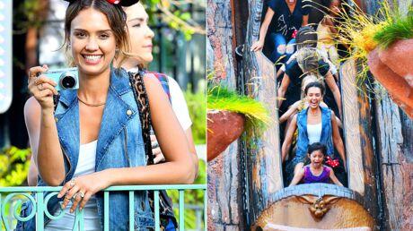 PHOTOS Jessica Alba fête l'anniversaire de sa fille à Disneyland
