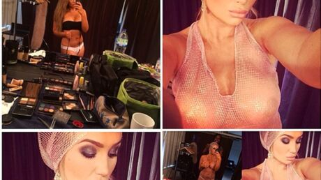 PHOTOS Lauren Goodger, la copieuse ratée de Rihanna en robe transparente
