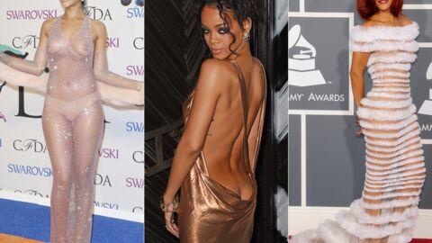 DIAPO Rihanna ou l'art d'être presque nue: ses tenues les plus provocantes