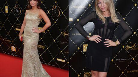 PHOTOS La chanteuse Priscilla élégante, Lola Marois sexy aux Gold Prix de la TNT