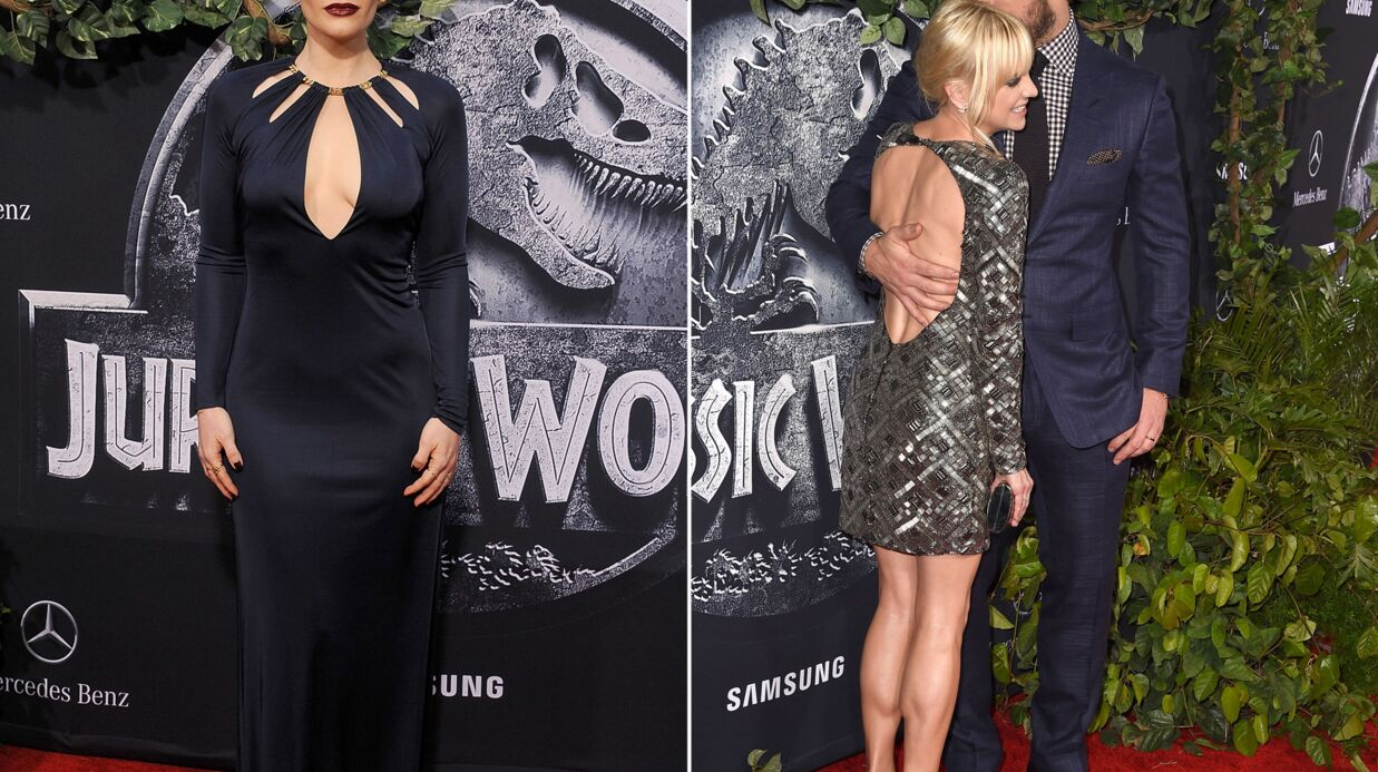 PHOTOS Bryce Dallas Howard sensuelle, Chris Pratt et Anna Faris amou­reux pour Juras­sic World