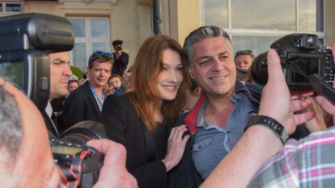 PHOTOS Carla Bruni-Sarkozy fait le show au festival du film de Cabourg
