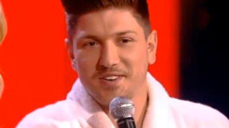 VIDEO Quentin Mosimann (Star Academy) nu sur le plateau de The Voice