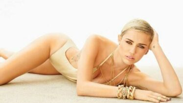 Miley a le smile