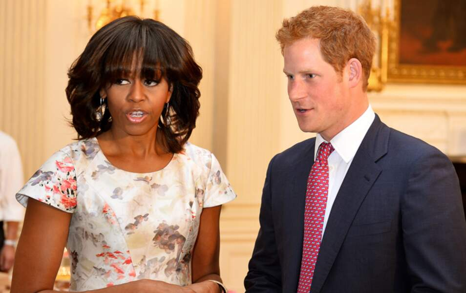 Michelle Obama et le prince Harry