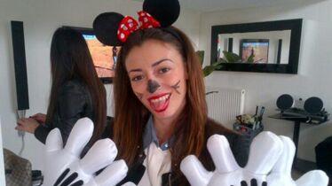 Minnie sourit