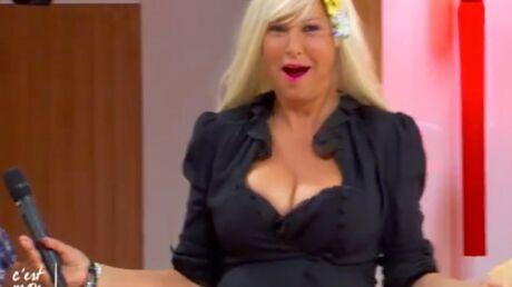 VIDEO Evelyne Thomas se transforme en blonde à forte poitrine