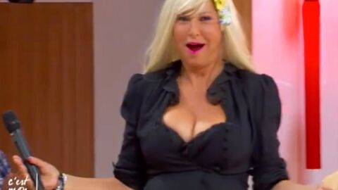 VIDEO Evelyne Thomas se transforme en blonde à forte poitrine