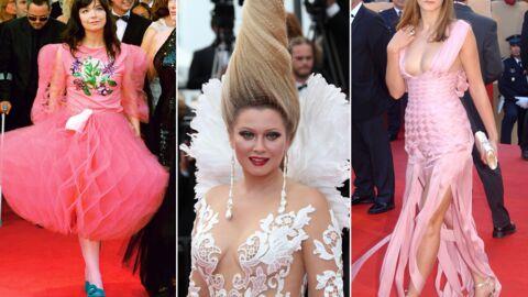 DIAPO Festival de Cannes: les pires looks jamais vus sur le tapis rouge