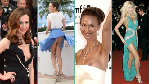 PHOTOS Cannes 2017 : à J-7,  retour sur les accidents de tenue les plus sexy du Festival