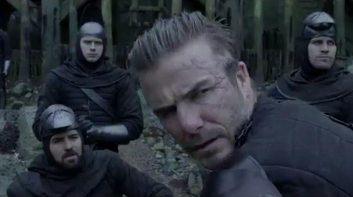 Un premier extrait de David Beckham dans le film Le roi Arthur: sa prestation est déjà moquée