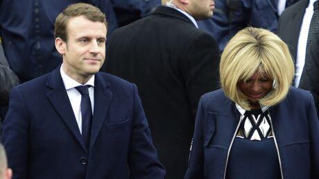 À cause de la situation de François Hollande, Brigitte Macron n'entrera pas à l'Élysée au bras de son mari