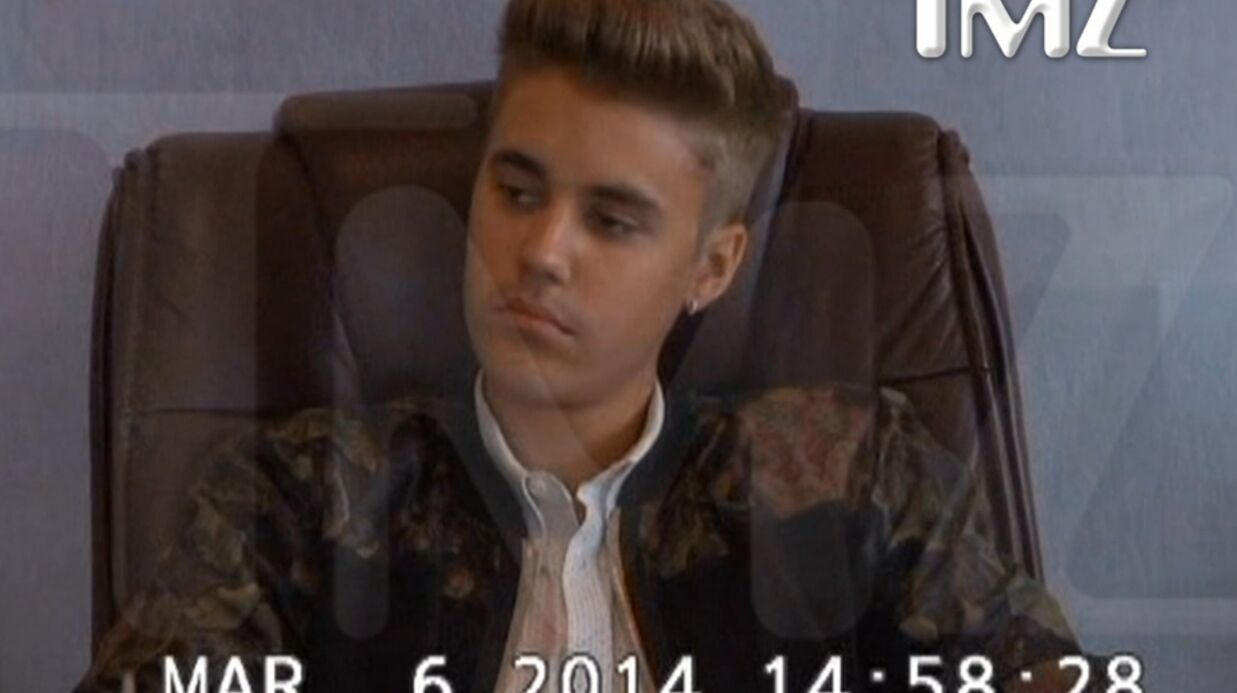 VIDEO Justin Bieber exécrable et irrespectueux face à la justice