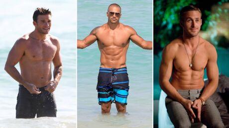 PHOTOS Ces stars masculines qui affichent des abdos en béton