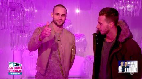Secret Story 10: Bastien éliminé, il perd son duel face à Julien