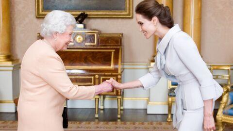 PHOTOS Angelina Jolie honorée par la reine Elizabeth II