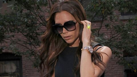 PHOTOS Victoria Beckham à la fashion week, David au premier rang