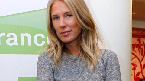 Agathe Lecaron enceinte de son premier enfant à 39 ans