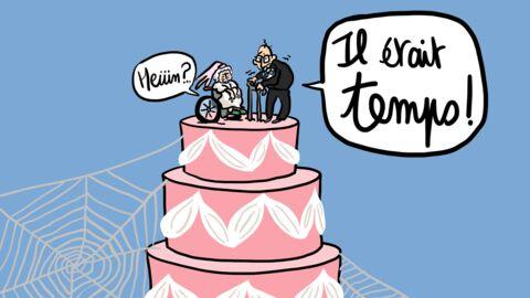 Louison a croqué: Jennifer Aniston et Justin Theroux se sont mariés!