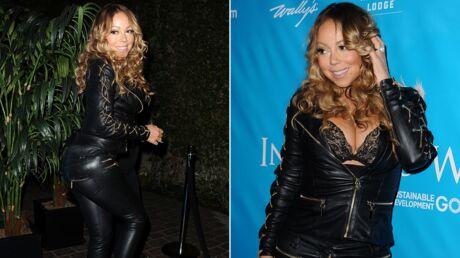PHOTOS Veste ouverte, Mariah Carey était toute poitrine dehors pour une soirée en l'honneur de Ban Ki-moon